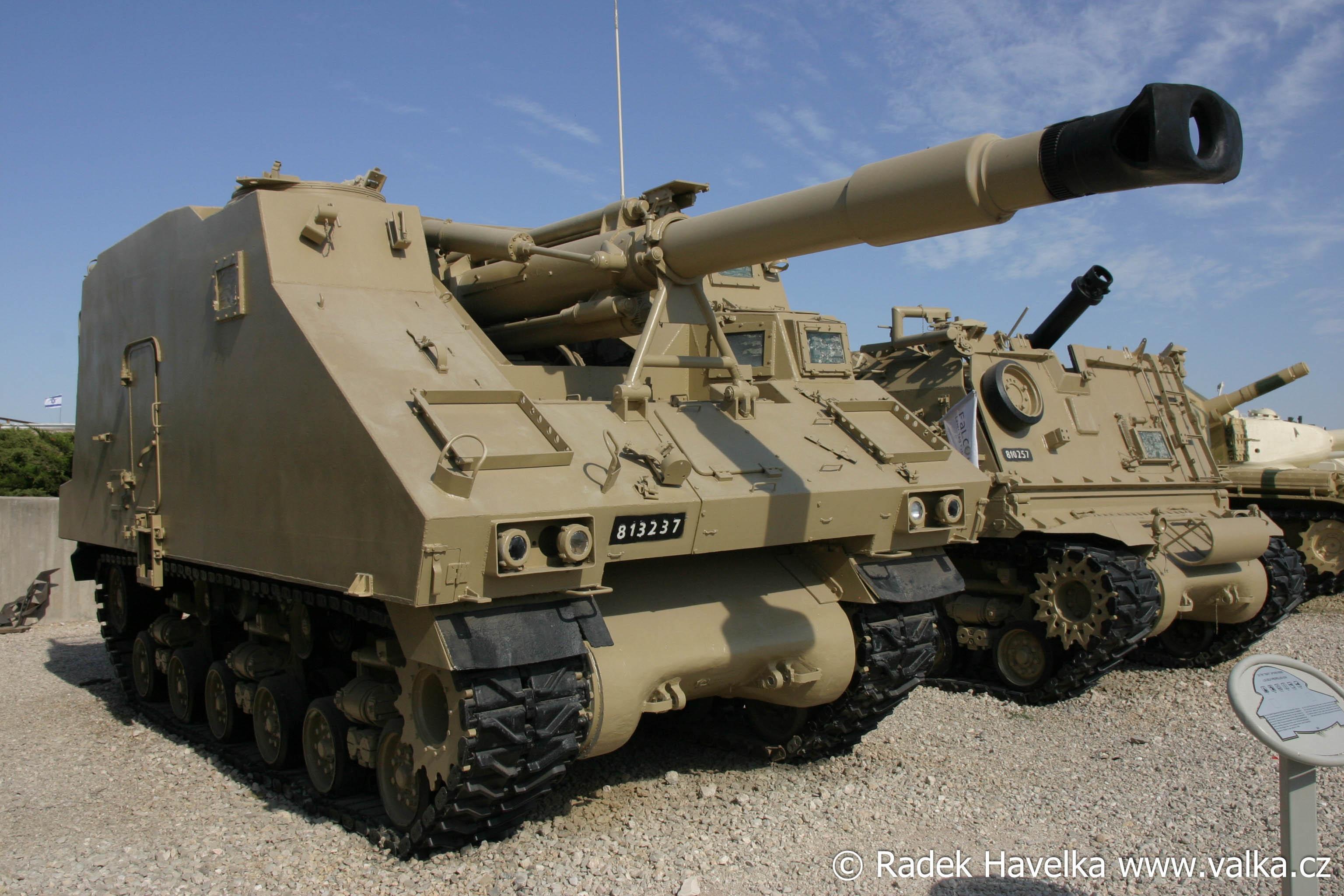 Soltam L33 (155mm samohybná houfnice) : Israel (ISR)