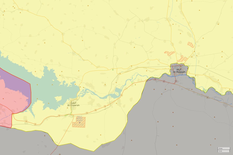 2011 - dosud - Občanská válka v Sýrii : Syrian Civil War