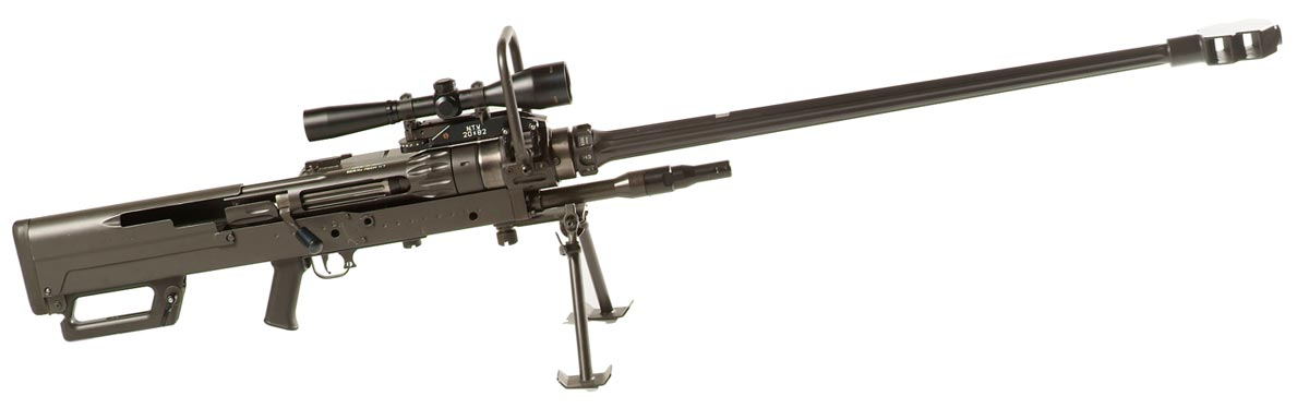 El rifle mas potente del mundo perforador de blindaje