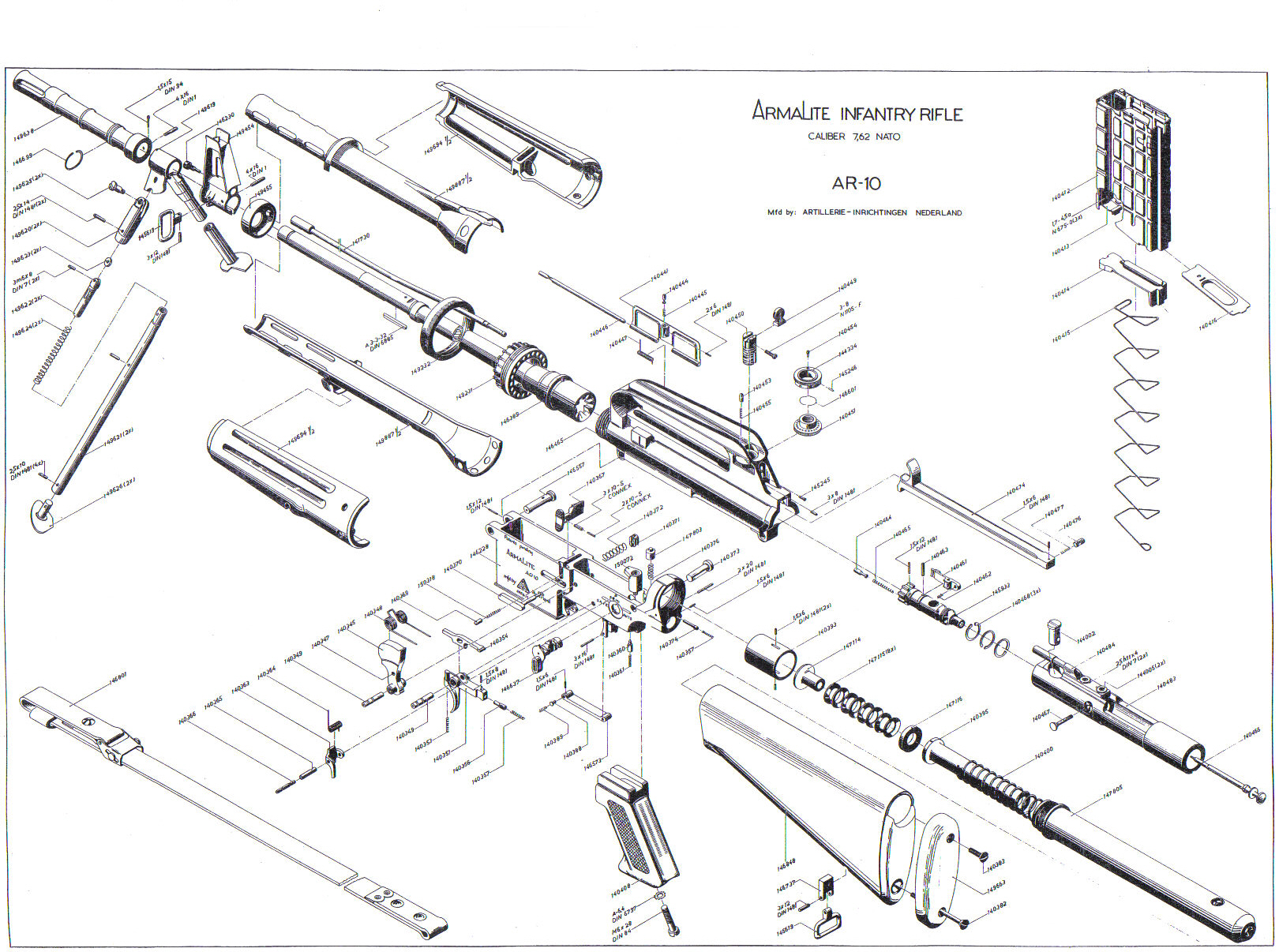 Ar 15 Exploded View Diagram Modern Design Of Wiring Diagram