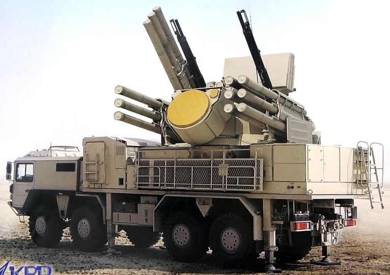 الصفقات العسكرية العربية بالكامل من ( 2004 : 2013 )  - صفحة 2 96K6E-Pantsir-S1E-UAE-2S