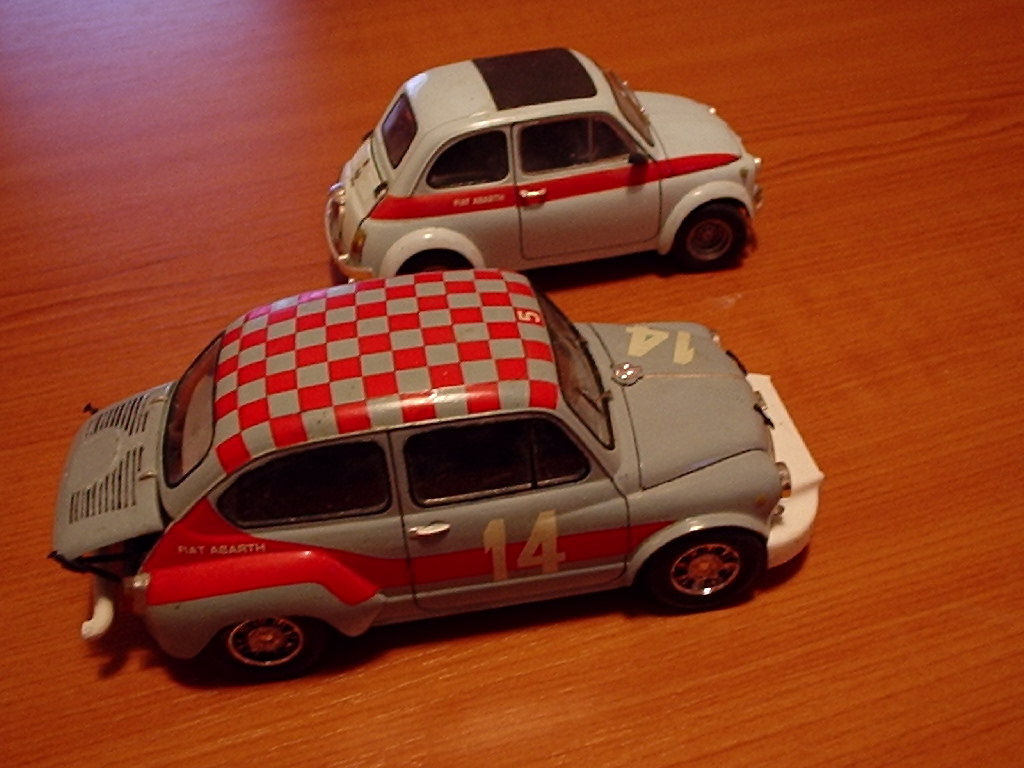 Abarth 1000 TCR :: Cars and