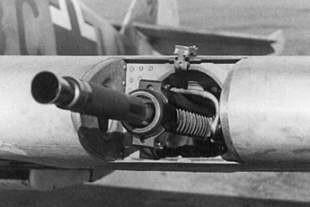 Deu Mg Ff 20 Mm Kanon Simple Breech Guns Single Barrel Guns